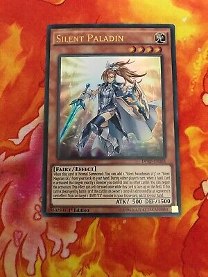 DPRP-EN003 - Silent Paladin M//NM Ultra Rare 1st Edition YuGiOh 1x