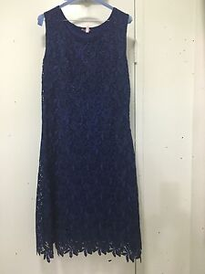 Navy blue lace dress Cammeray North Sydney Area Preview