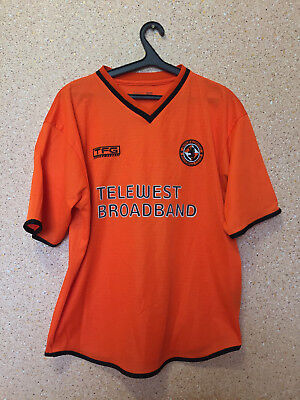 Dundee United ENGLAND 2003/2004 HOME FOOTBALL SHIRT JERSEY MAGLIA TFG image