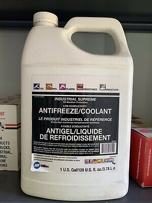 Miller Tig Coolers 1 Gal Low Conductivity Antifreeze Coolant Lubricant 043810