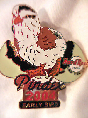 Hard Rock Hotel Las Vegas Pindex Early Bird '04 Pin