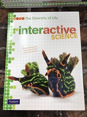New! INTERACTIVE SCIENCE Diversity of Life Middle School Workbook Pearson (Middle School Life)