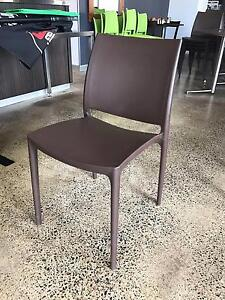 Cafe / Restaurant Dining Chairs - 10x brown Nundah Brisbane North East Preview