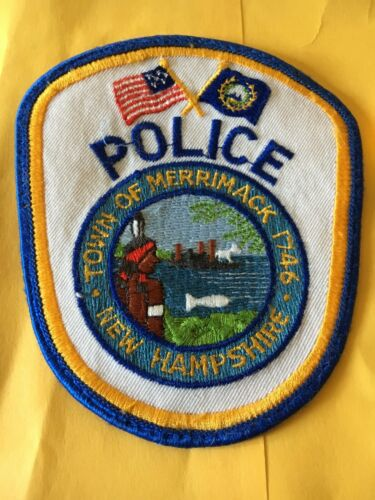 Merrimack New Hampshire Police Patch