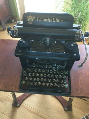 L.C. Smith and Brothers Antique Typewriter