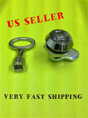 Lot Of 10 Key Cam Lock For Cabinet Box Drawer Mailbox Cupboard 060.1.1.28.10