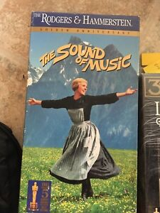 the sounds of music VHS