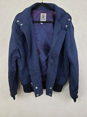 Embroidered 50th Anniversary Wizard of Oz Blue Jacket Size XL NWOT ()