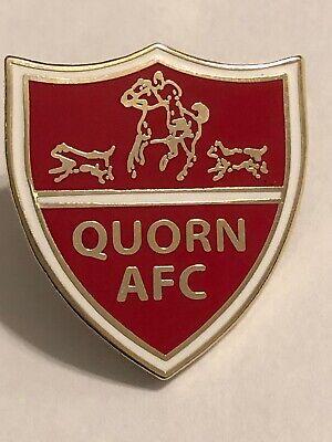 QUORN NON LEAGUE FOOTBALL CLUB BADGE