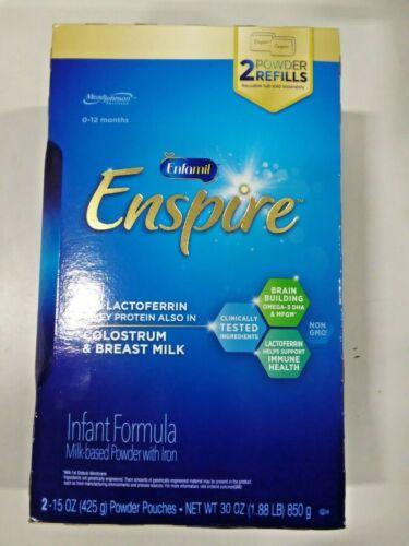 Enfamil Enspire Infant Formula with MFGM & Lactoferrin/ Powder Refill Box, 30 Oz