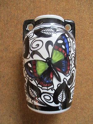 Schramberg SMF Jugendstil art deco Vase Eva Zeisel ?? Schmetterling Butterfly