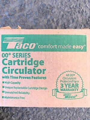 Brand New In Box Taco 007-f5-7ifc Cartridge Circulator Pump 125 Hp Ifc