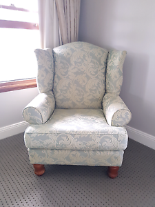 Wing back armchair Kurrajong Hills Hawkesbury Area Preview