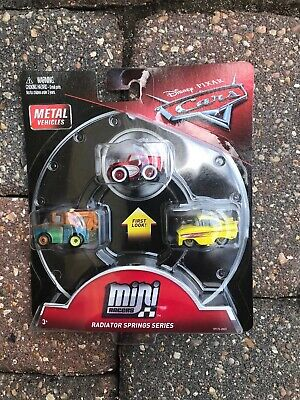 Disney Cars 3 Radiator Springs Series Mini Metal Racers McQueen Mater Ramone♾