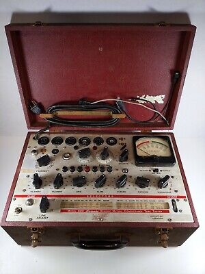 Vintage Hickok Model 600 Micromho Dynamic Mutual Conductance Tube Tester