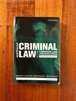 Australian Criminal Law in the Common Law Jurisdictions, 3rd Ed.