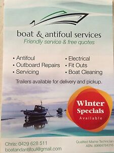 Outboard service repairs and antifoul Greenfields Mandurah Area Preview