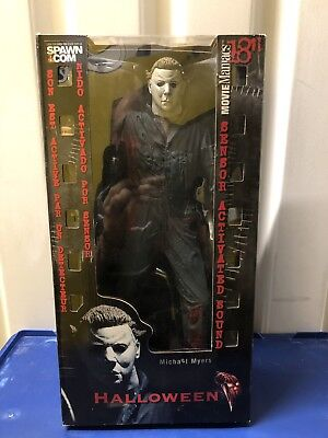 "McFarlane Movie Maniacs 18"" Motion Activated Figure Michael Myers Halloween MM93"