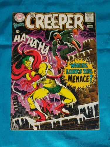 BEWARE THE CREEPER! # 1, June 1968, STEVE DITKO ART, FINE PLUS Condition