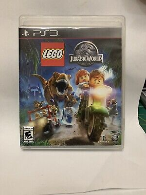 LEGO Jurassic World (Sony PlayStation 3, 2015) PS3 Free Shipping