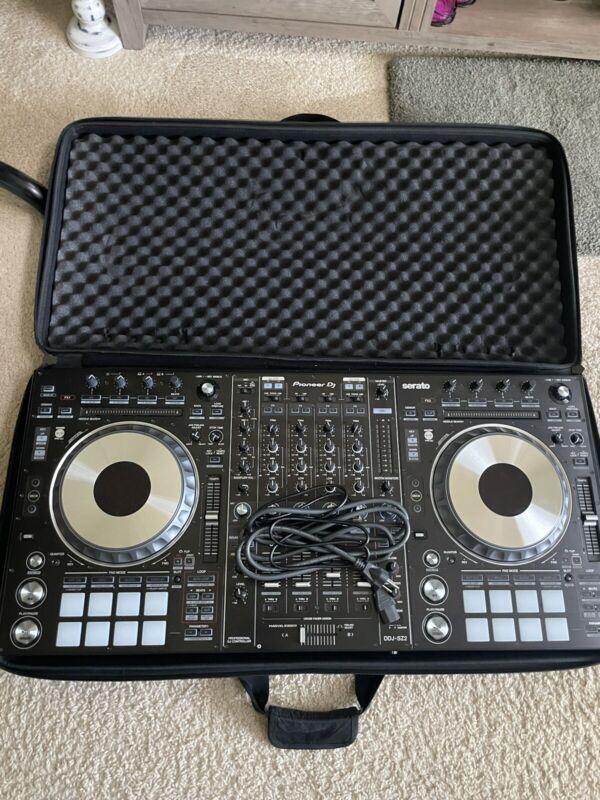 Pioneer DDJ-SZ2 Digital DJ Controller With Magma Soft Case.
