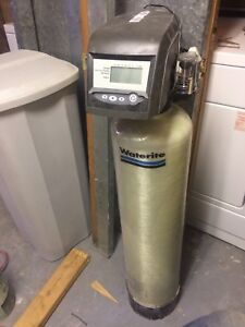 Water softener and salt