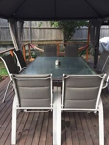 10 Seater Outdoor Setting Murrumba Downs Pine Rivers Area Preview