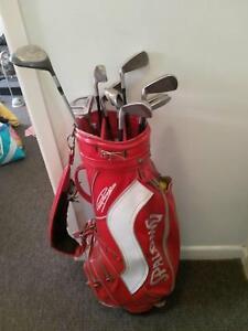 Golf clubs/balls/bag -seciond hand