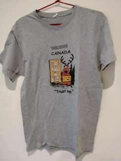 Gray Canada t-shirt