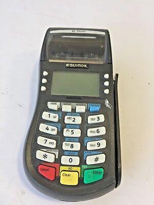 Equinox Hypercom T4220 Credit Card Reader Terminal 7.5v 2.4a 010332-311r Zyq