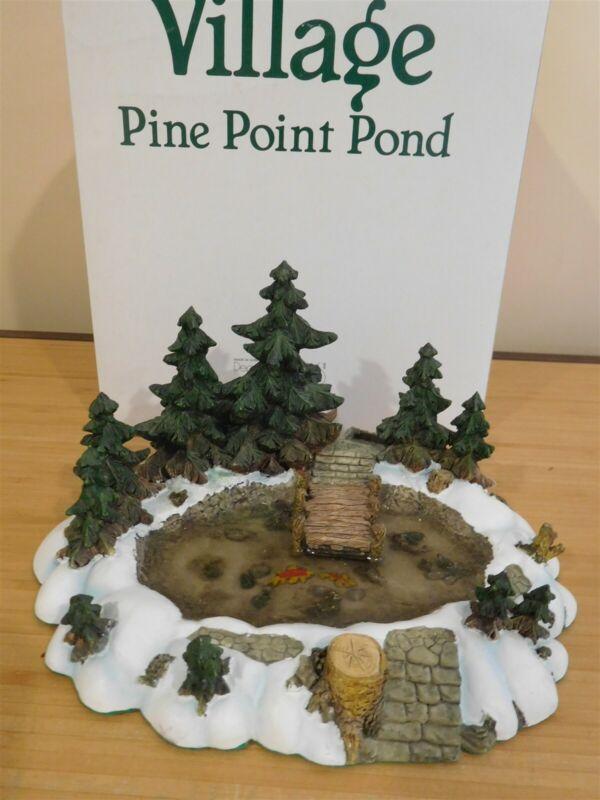 Dept 56 Village - Pine Point Pond