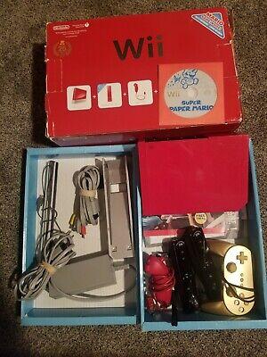 Nintendo Wii Bundle (red)