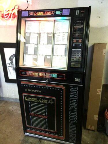 PIONEER LASER FULL SIZE JUKE BOX CD DISC PLAY-MODEL #CJ-V55