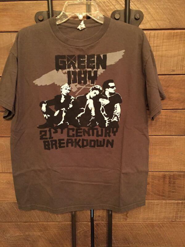 GREEN DAY - 21st Century Breakdown - original t-shirt - green - MEN