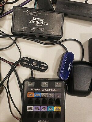 Escort Passport 9500ci Radar Detector with 2 Lasers and Laser Shifter Pro