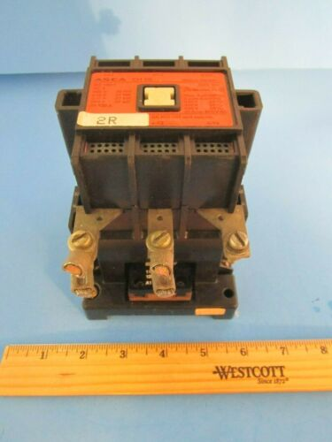 Asea Type EH 65 Size 2 1/2 Contactor 600 Vac 85 Amp 120V Coil Aux Contacts
