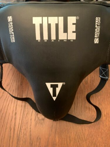 Title Boxing No Foul Groin Protector Size Regular Pre Owned