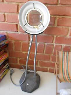 Old Antique Magnifying Light For Sale in good working condition