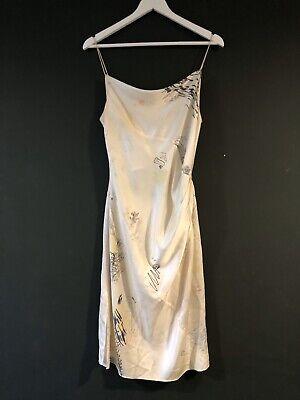 Alexander Wang Silk Doodle Dress Slip Size 6 Net A Porter
