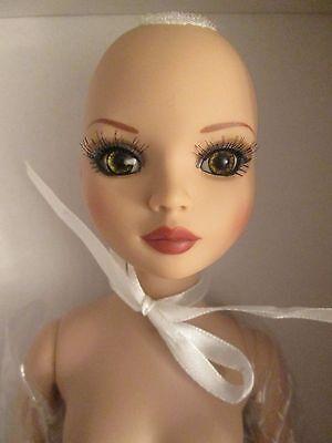 Brrooties Nude Ellowyne Wilde Tonner Doll Inset Eyes Head Stains See Photos