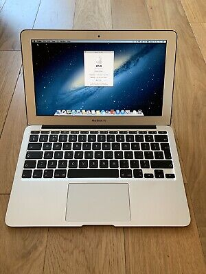 "Apple MacBook Air 11"" 2010 1.4ghz 2gb ram 64gb SSD (1712)"