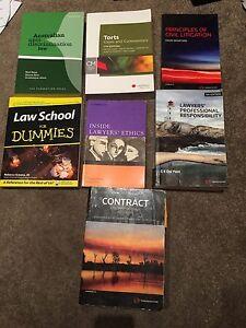 Various legal/ law textbooks Melbourne CBD Melbourne City Preview