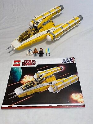 Lego 8037 Star Wars Anakin's Y-wing Starfighter Complete Set Instructions No Box