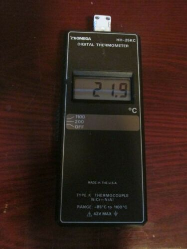 Omega HH-25KC Thermometer