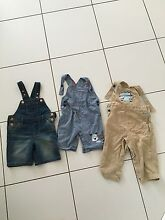 3 x Toddlers Boys Dungarees 2years Nerang Gold Coast West Preview