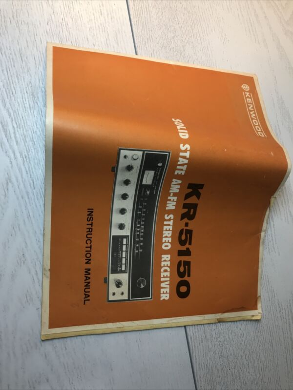 Kenwood KR-5150 Receiver Owners Instruction Manual with schematic diagram