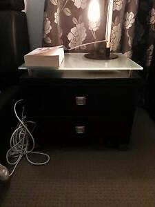 2 MODERN BEDSIDE TABLES Carrara Gold Coast City Preview