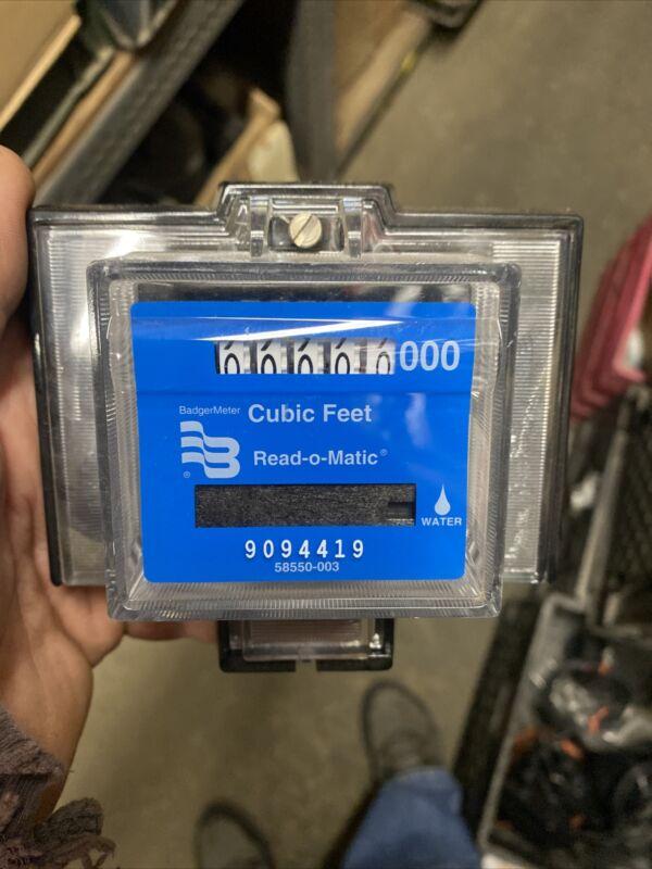 Badger Water Meter Pulse Remote 1000 Cubic Feet