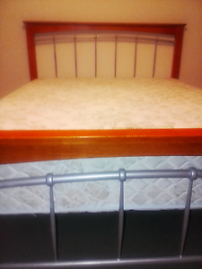Queen bed with Sealy mattress,  delivery available Springwood Logan Area Preview
