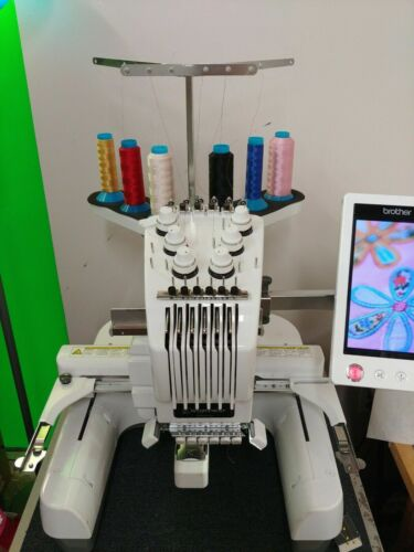 Brother PR-650 6 Needle Embroidery Machine with Hoop Set
